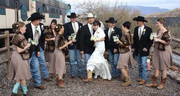 Western Style Wedding Sedona