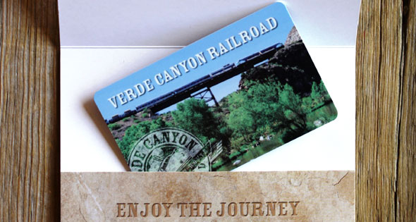 Verde Canyon Railroad Gift Certificate