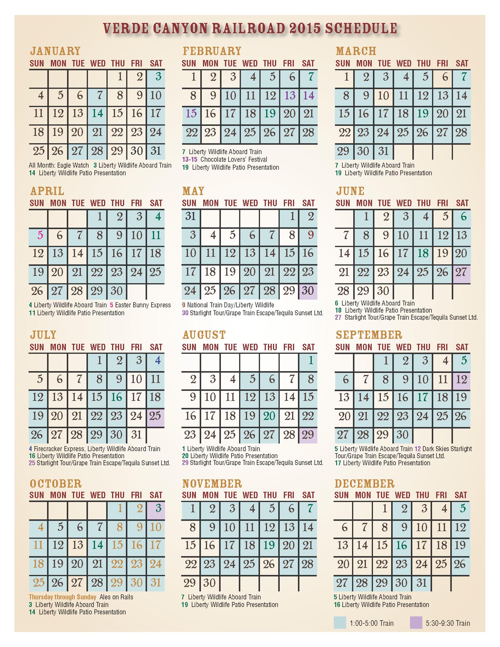 calendar 2105 1pgHR