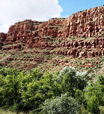 Verde Canyon near Sedona