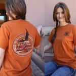 Orange Verde Canyon Railroad T Shirt