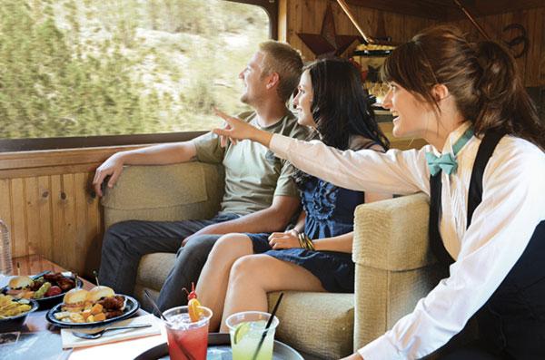 Train Ride Hospitality