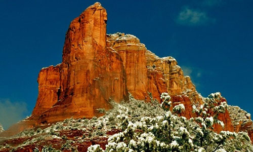 Sedona in the Winter