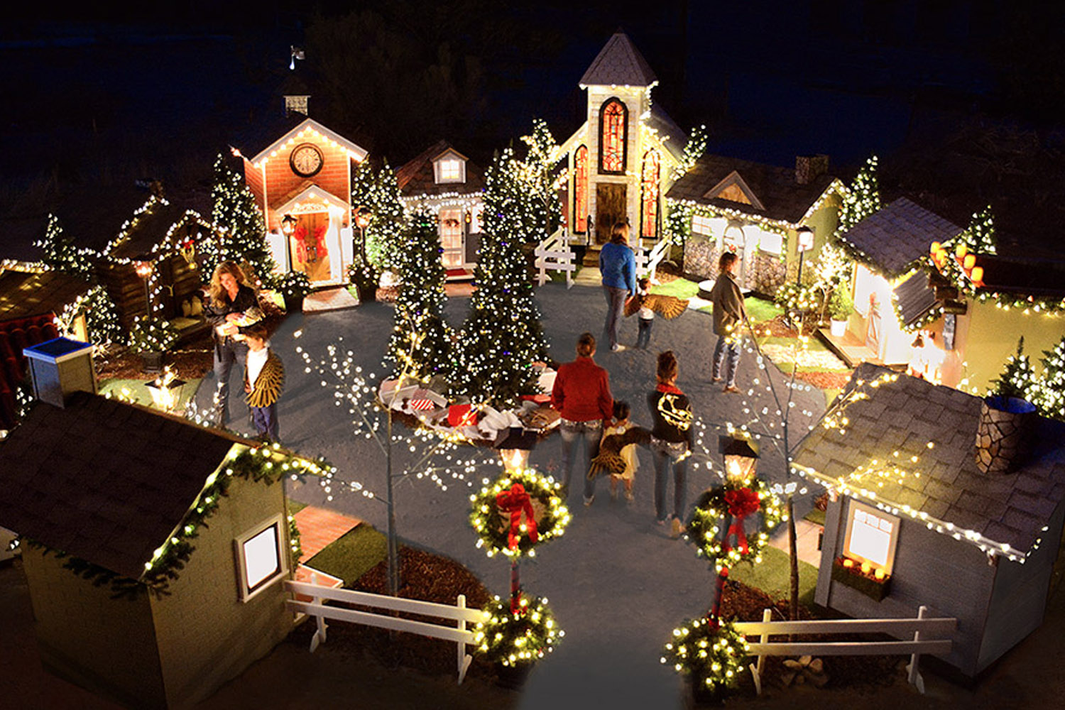 sedona christmas village
