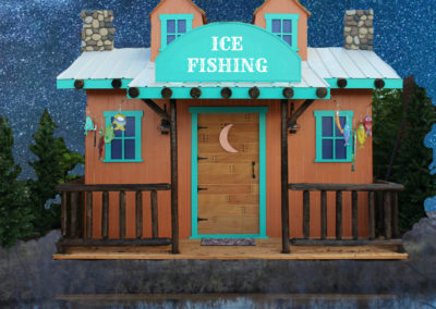 Ice Fishing Lodge