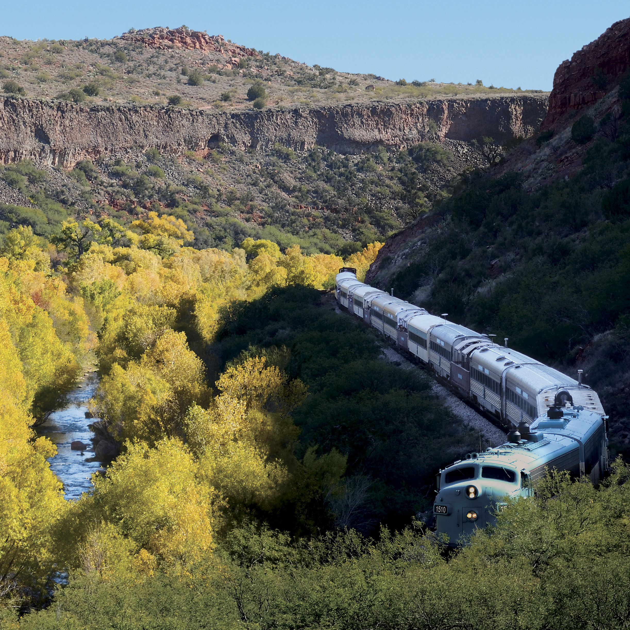 In the Canyon - Verde Canyon